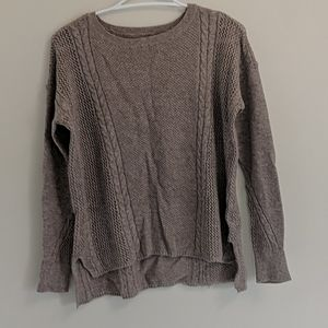 American Eagle Woven Sweater